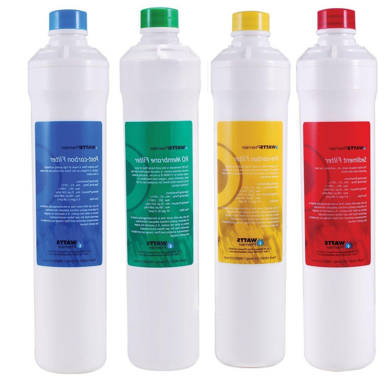 premier ro pure 4 pack replacement filters