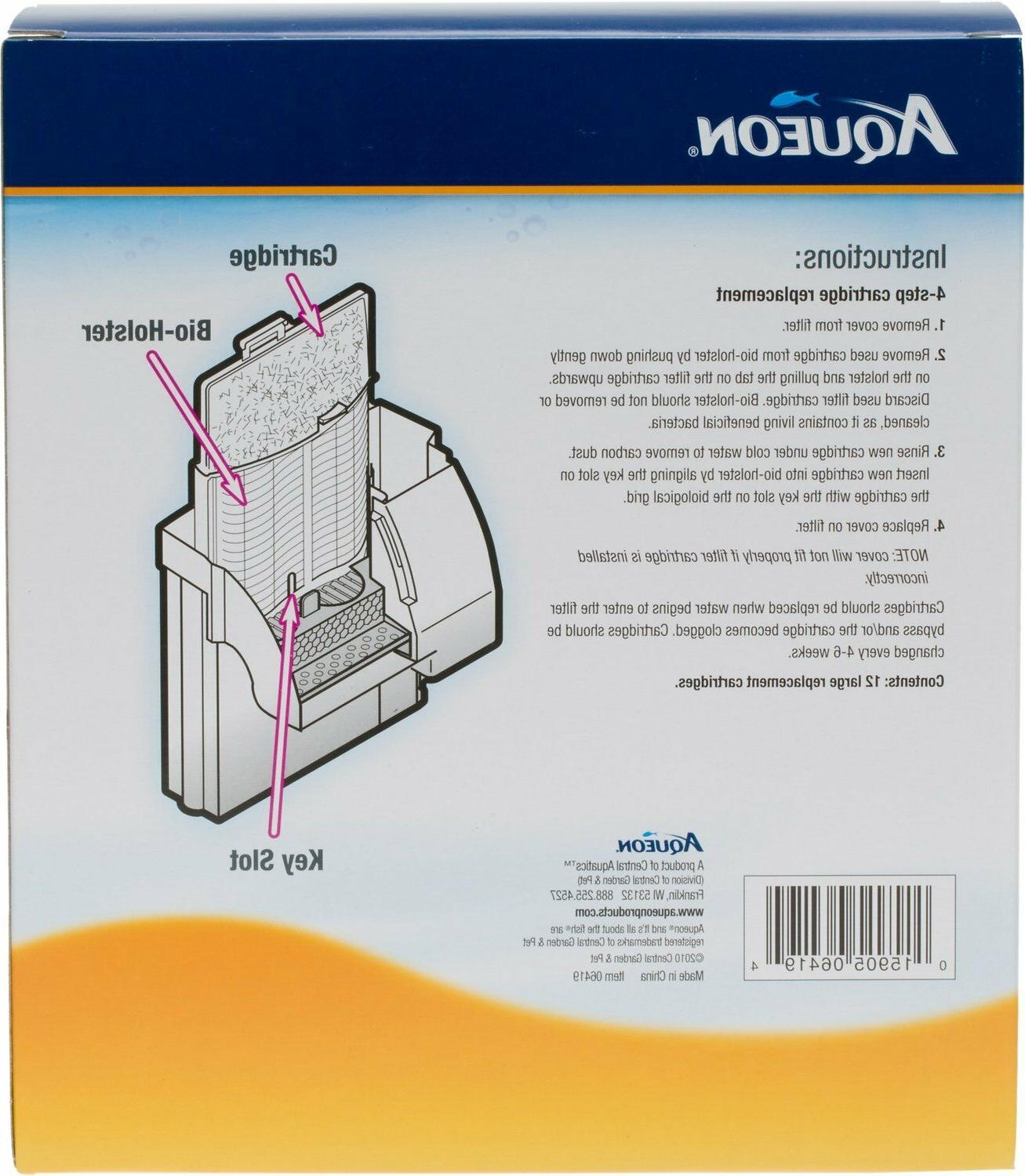 Aqueon Replacement Filter Cartridge Large Shipping