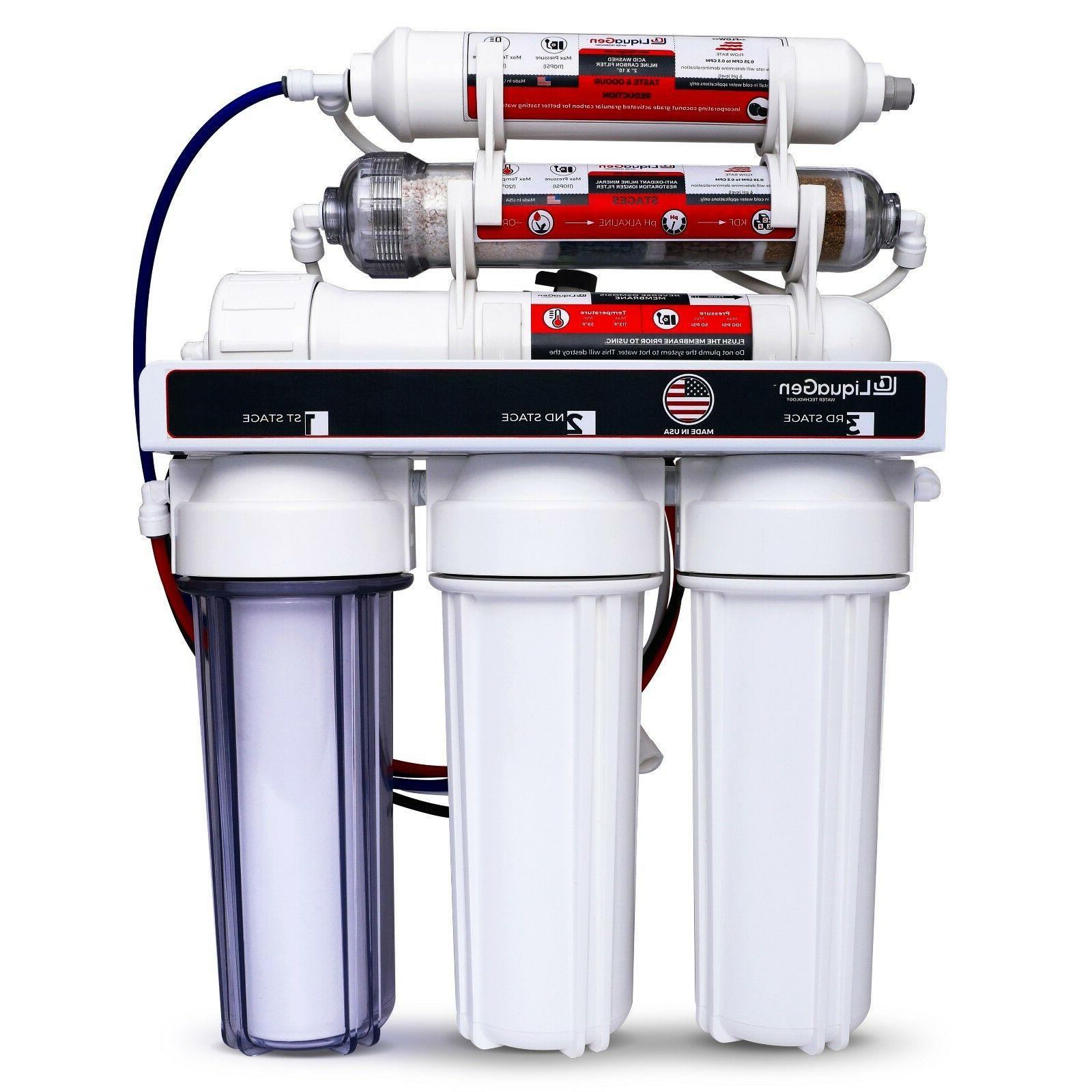 replacement 6 stage reverse osmosis home drinking