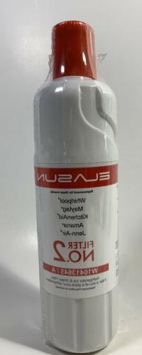 Elasun Replacement Filter-W10413645A Water Filter