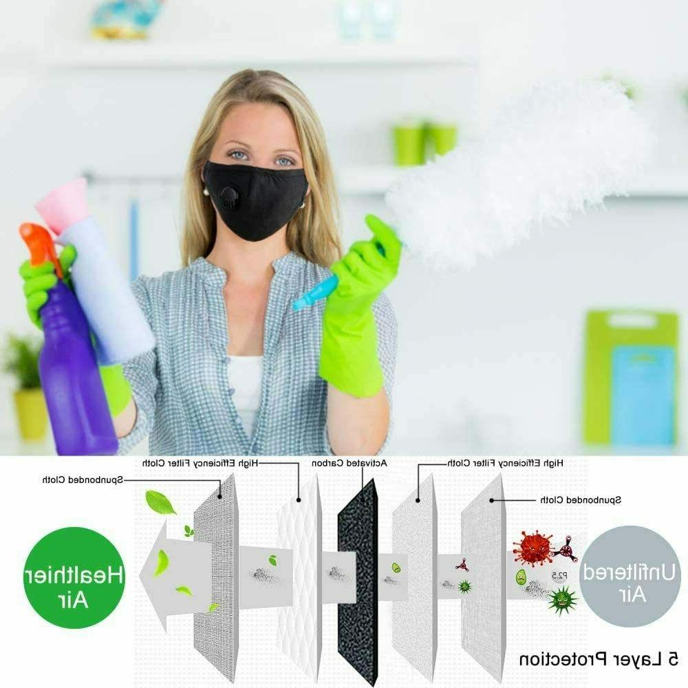 Reusable Mask Replaceable PM2.5 5