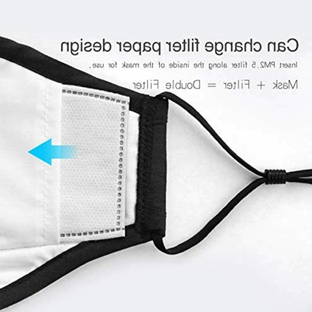 Reusable Mask PM2.5 Activated Filter 5 Layer