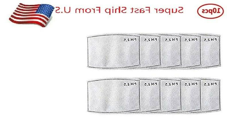 reusable face mask replaceable pm2 5 activated