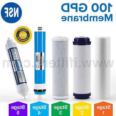 reverse osmosis replacement filter set ro cartridges