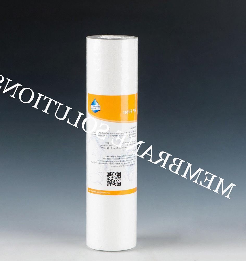 Reverse Osmosis Set Cartridges 4 stage w/ Membrane