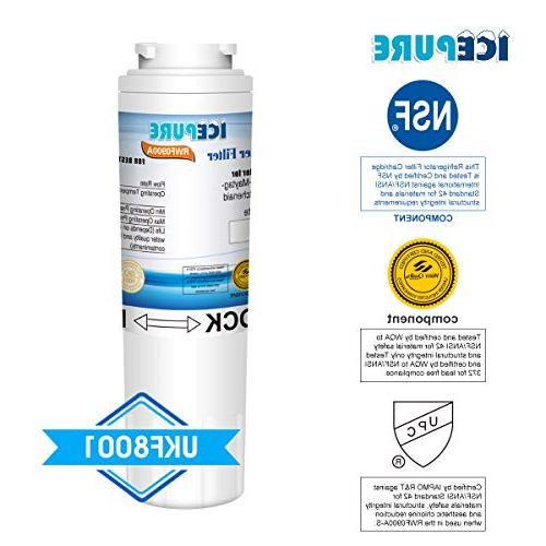 ICEPURE Replacement Refrigerator Water with EveryDrop 4, II,