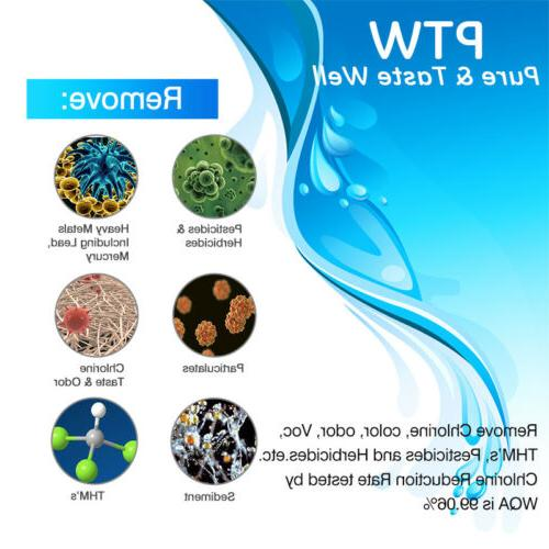 PTW Replacement MWF Refrigerator Water Filter PACK