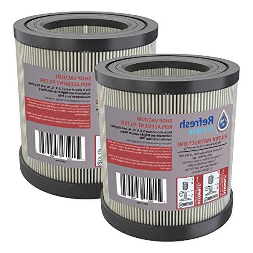 VF4200 Refresh Replacement for Wet//Dry Shop Vac Air Filter model R17186 and Craftsman 17816 and Ridgid VF4000 1 pack
