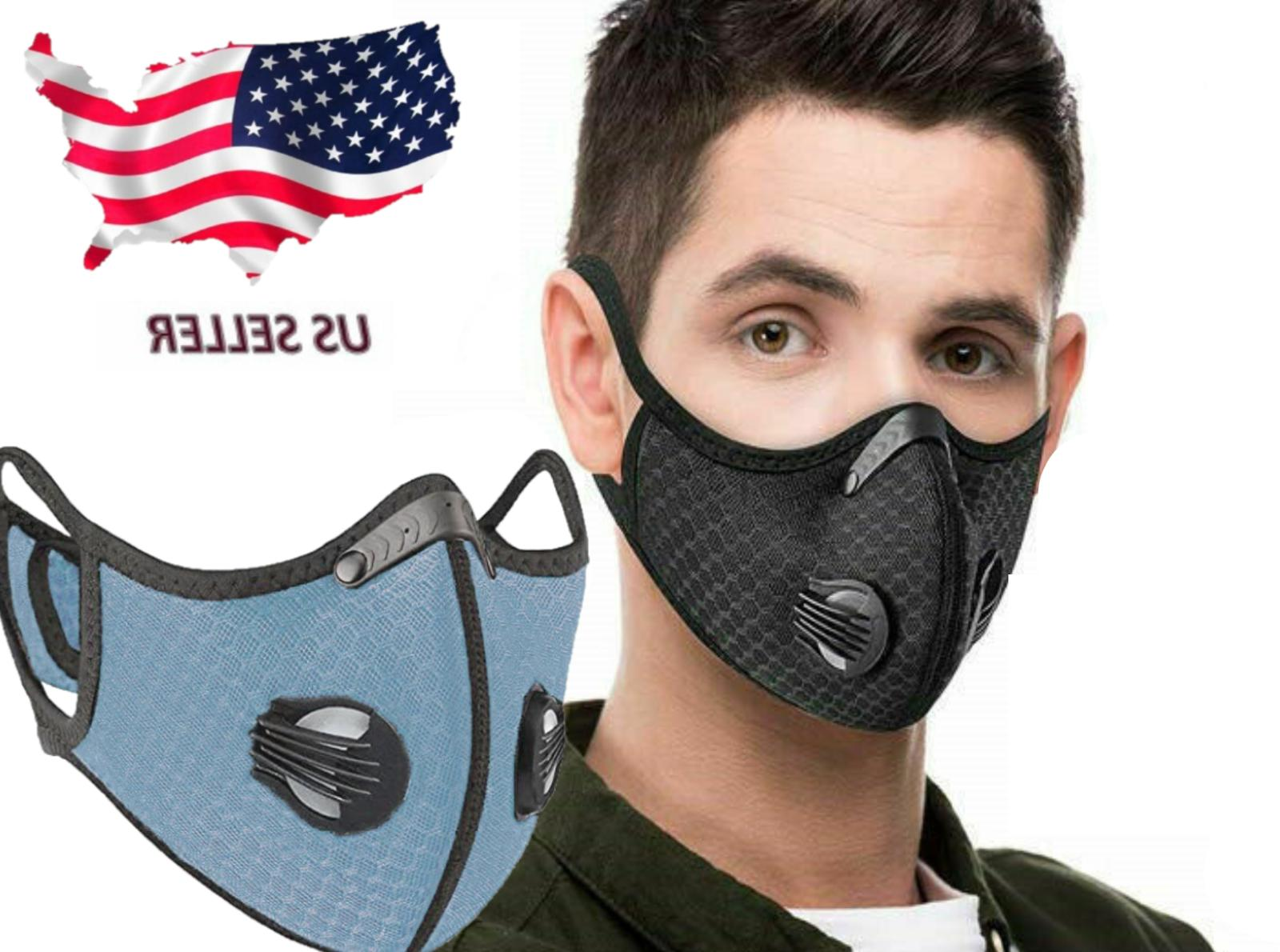 USA Mask With Air Breathe Vents