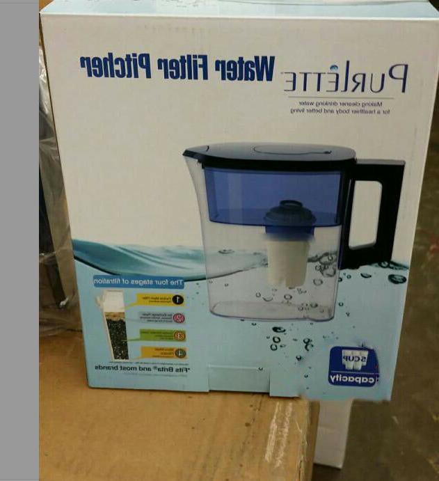 2.5L Water Filter Reduces 100% Dissolved