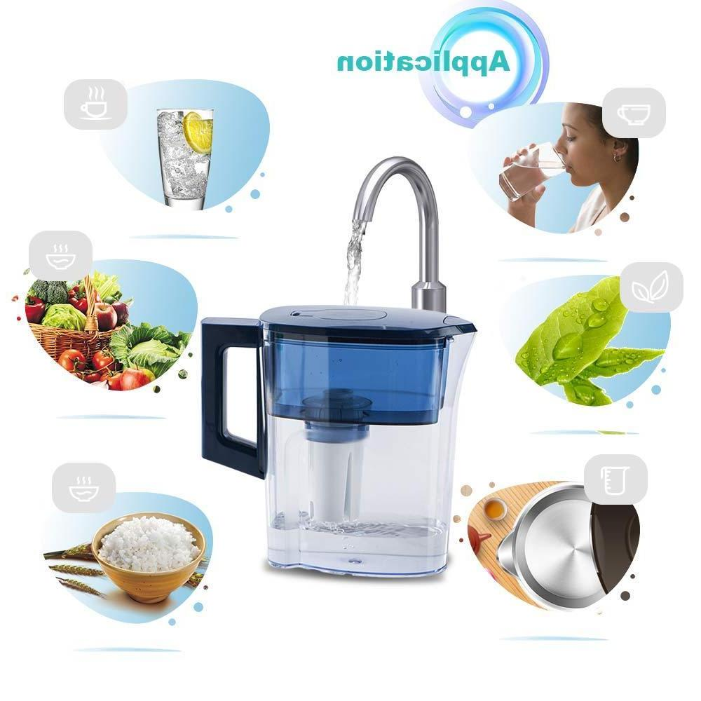 2.5L Water Filter Reduces 100% of Dissolved +1