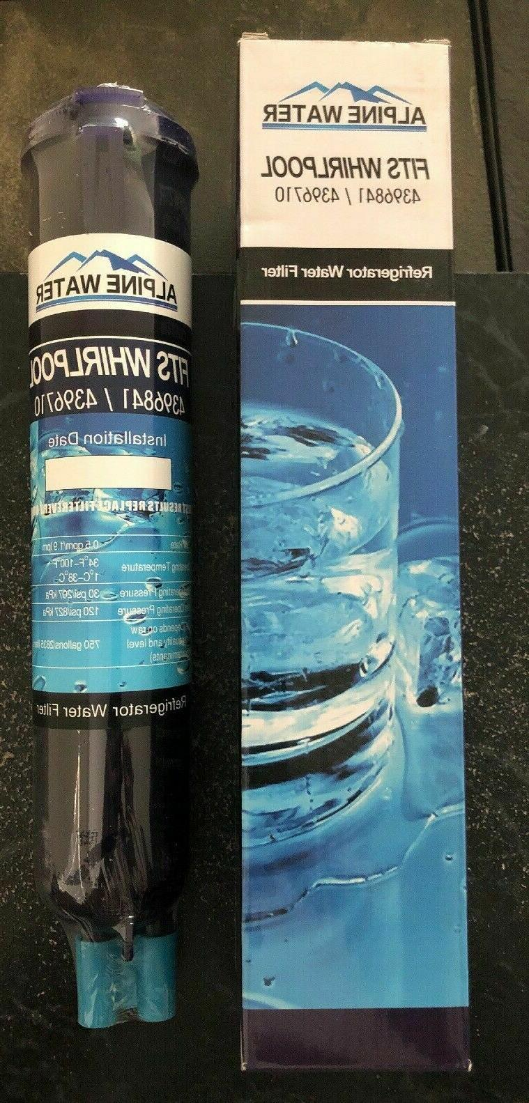 whirlpool refrigerator water filter replacement 4396841 4396