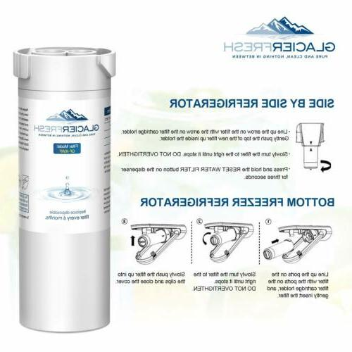 GLACIER FRESH Replacement For Refrigerator Water