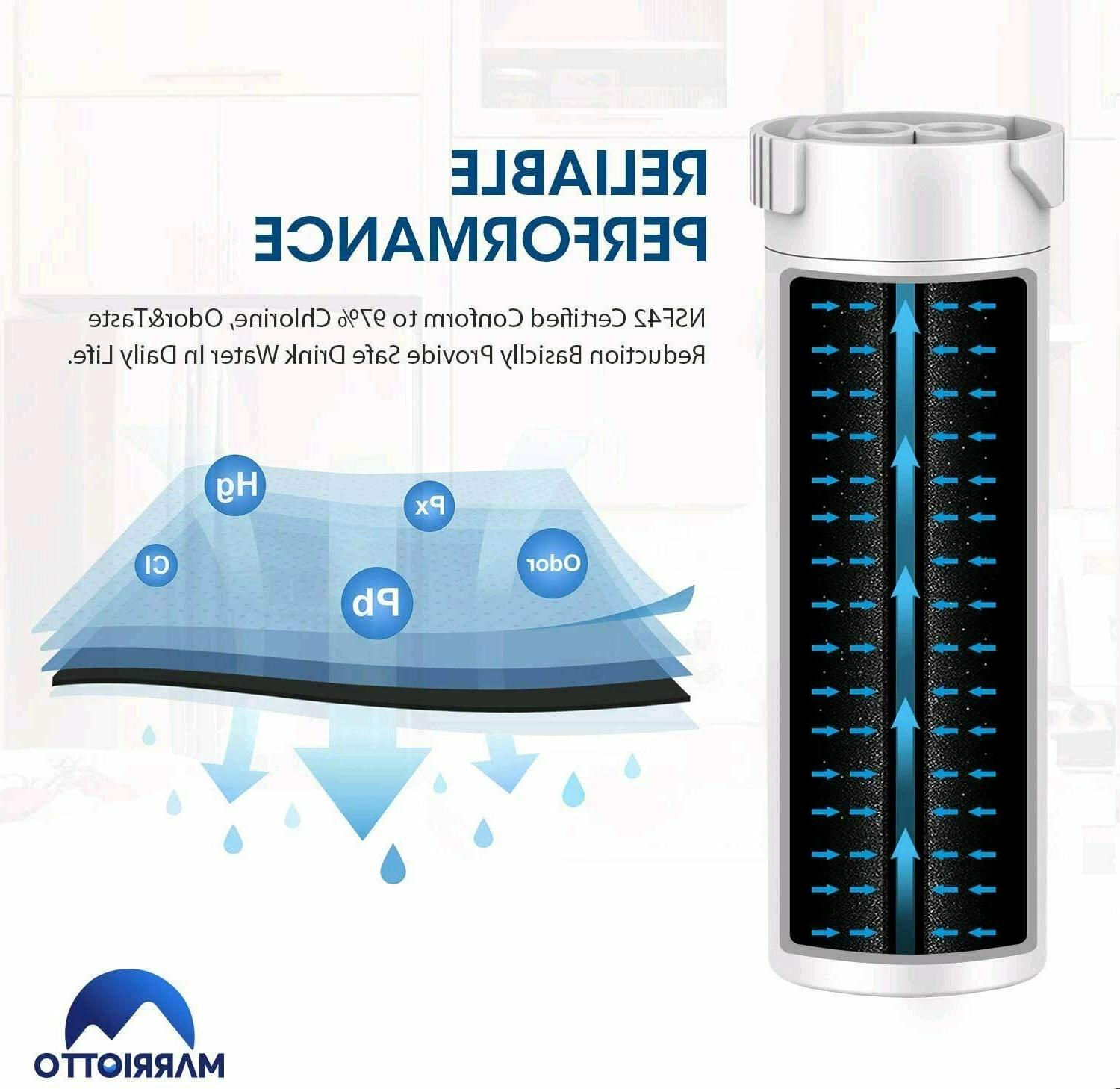 XWF Water Filter,Replacement GE XWF,XWF Refrigerator,NSF/42,2PACK