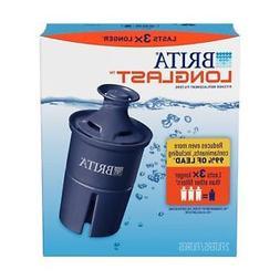 Brita Longlast Pitcher Replacement Filter - BPA-Free, 120 Ga