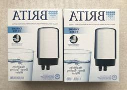 Lot of 2 Brita FR-200 Chrome Faucet Replacement Filters FF-1