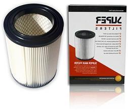 Premium Shop Vac Filter 917816, Supermax Ridgid Craftsman 17