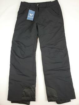 "White Sierra Men's 32"" Inseam Toboggan Insulated Pants, Blac"
