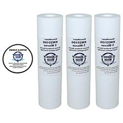 micron replacement water filter cartridge