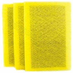 RayAir Supply MicroPower Guard Replacement Filter Pads Yello