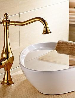 Ling@ Basin mixer Vessel Single Handle One Hole in Ti PVD Ba
