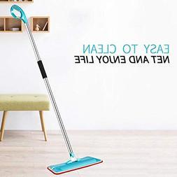 Mops - Microfiber Cloth Tile Floor Flat Mop Swab Home Cleani