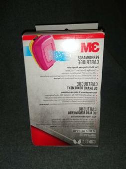 New Genuine 3M 60923 Multi Gas/Vapor Replacement Cartridge/F