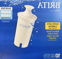New GENUINE Brita Pitcher Replacement Water Filters 10 Value