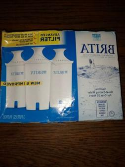 New Pack of 3 Brita Pitcher Replacement Water Filters model