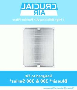 NEW REPLACEMENT FILTER TO FIT BLUEAIR BLUE AIR 200 300 SERIE