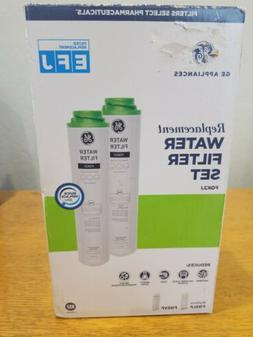 NEW Set 2 Genuine GE Replacement E F J Water Filter FQK2J