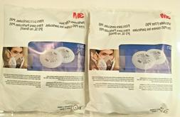 3M New Two Pairs Replacement Particulate Filters for Respira