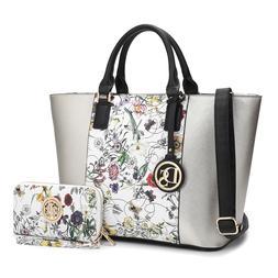 Dasein Women Handbags Large Tote Bag Satchels Shoulder Purse