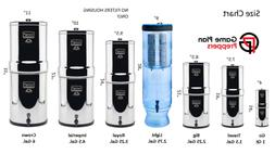 NO FILTER Replacement Berkey Water Purification Systems NO F