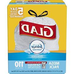 Glad OdorShield Protection Series Tall Kitchen Drawstring Tr