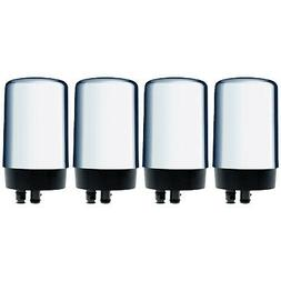 Brita 4-PACK On Tap REPLACEMENT WATER FILTERS CHROME Faucet