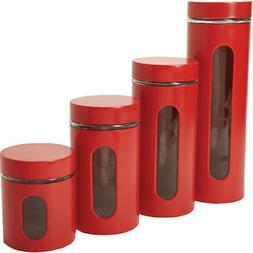 4 Pc. Palladian Cherry Window Cylinder Set