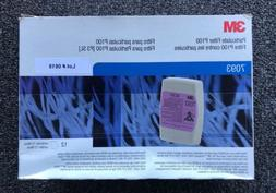 3M PARTICULATE FILTERS P100 7093 Face Mask Filter Replacemen