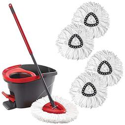 Infgreate Perfect Cleaning Tool Microfiber Wring Spin Mop Tr