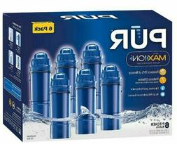 Pur Pitcher Replacement Filter, Blue - 6 pack