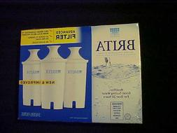 BRITA PITCHER REPLACEMENT FILTERS 3 Pack NEW IN BOX #OB03 Fi