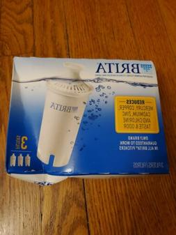 Brita Pitcher Replacement Filters - 3 Pack, white