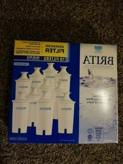 Brita Pitcher Replacement Water Filters 10 Value Pack. Reduc