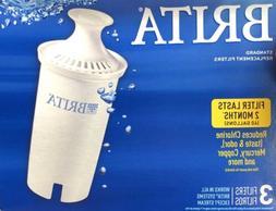 pitcher standard replacement filter 3 filter pack