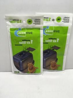 Van Ness Pureness Zeolite Cat Litter Box Air Filters Replace