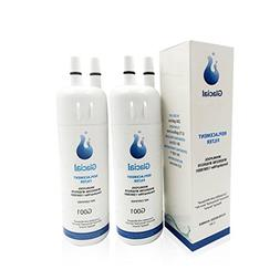 Glacial Pure Refrigerator Water Filter Replacement for EDR1R