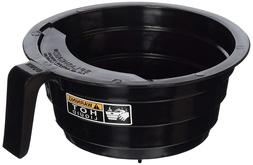 Bunn Replacement Black Plastic Funnel with Decals for 12-Cup