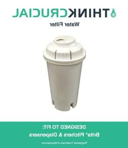 Replacement Brita Water Filter Fits Pitchers & Dispensers