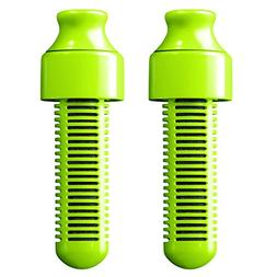 Bobble Replacement Filter, Lime, 2-Pack