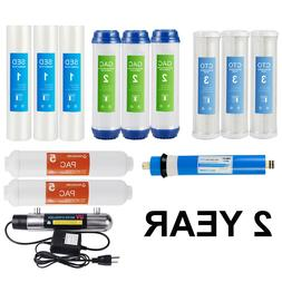 Replacement Filter Set for Nuguri 6 Stage Reverse Osmosis Sy